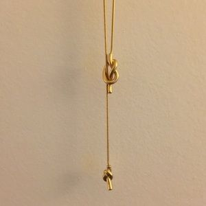 Madewell Jewelry - Madewell gold knot necklace